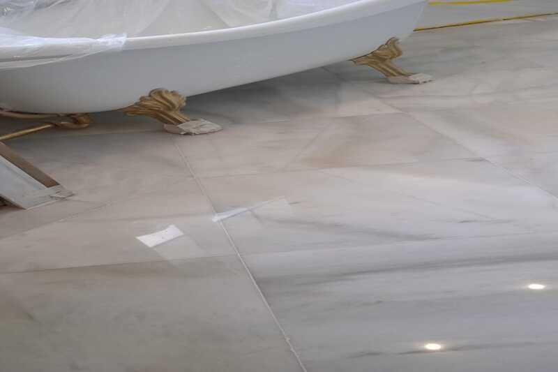 Restauración de mármol